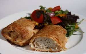 chicken in puff pastry, photo by LdV