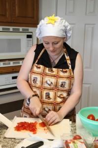 chop chop chopping (photo by LdV)