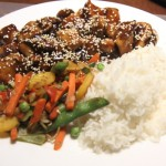 sesame chicken, photo by LdV