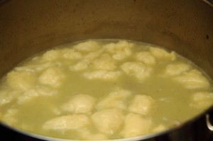 potato soup with rivels