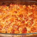 mexican lasagne fully baked