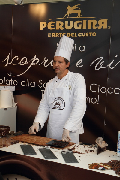 perugina chocolate making exhibit