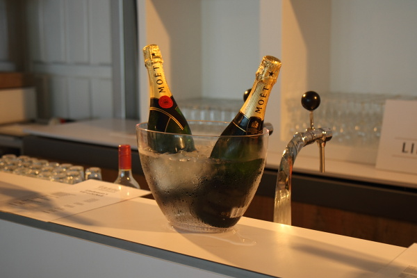 Champagne for VIPs at Taste of Amsterdam