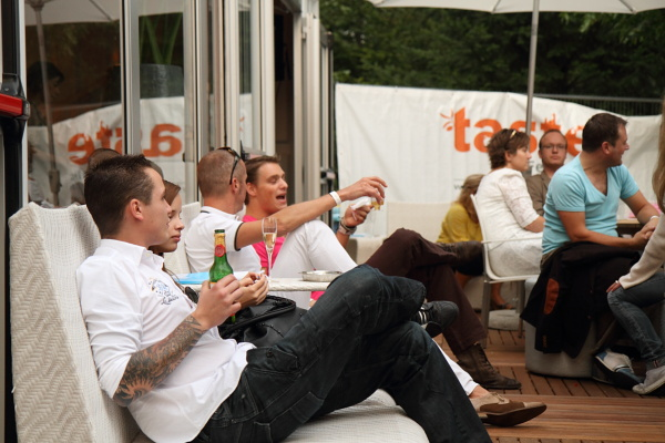 Visitors of the VIP lounge at Taste of Amsterdam